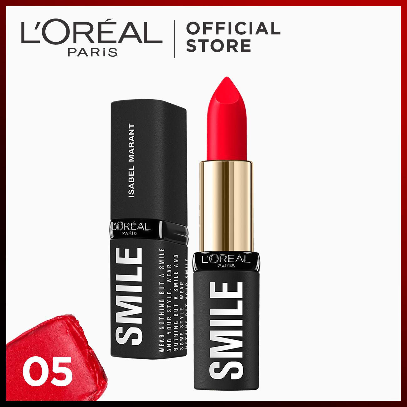 Loreal Paris Lipstick Philippines Lip Color For City Chic Liner Marsala Designer Makeup By Isabel Marant Smile Collection