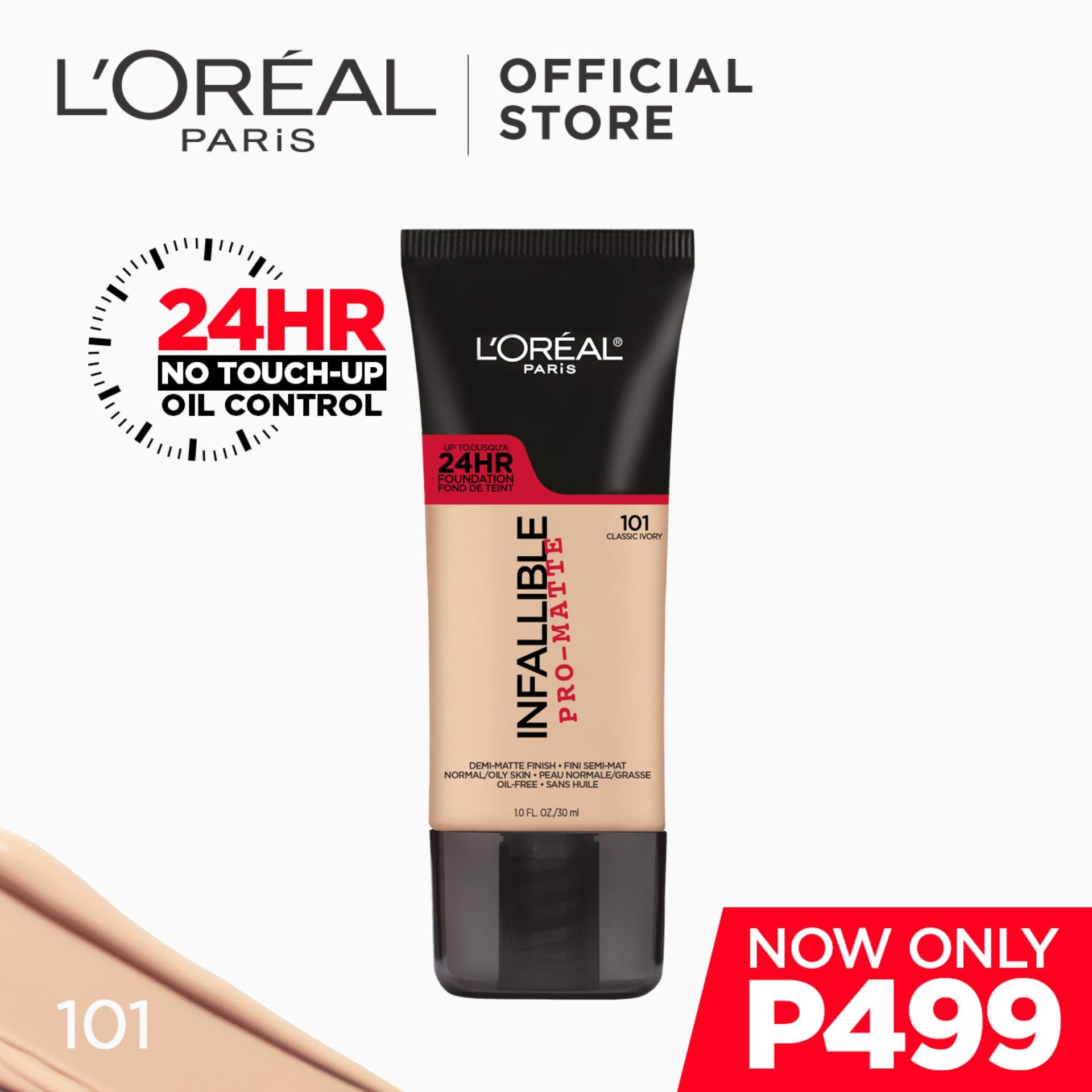Buy Sell Cheapest Yika 7 39 Best Quality Product Deals Lamp039oreal Infallible Total Cover Foundation Pro Matte Liquid 101 Classic Ivory Neverfail 24hr Longwear