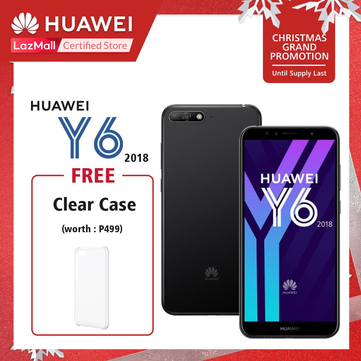 Huawei Philippines Phone For Sale Prices Reviews Lazada Skun Pcb Set 7500 5 Y6 2018 16gb Rom 2gb Ram With Free Clear Case