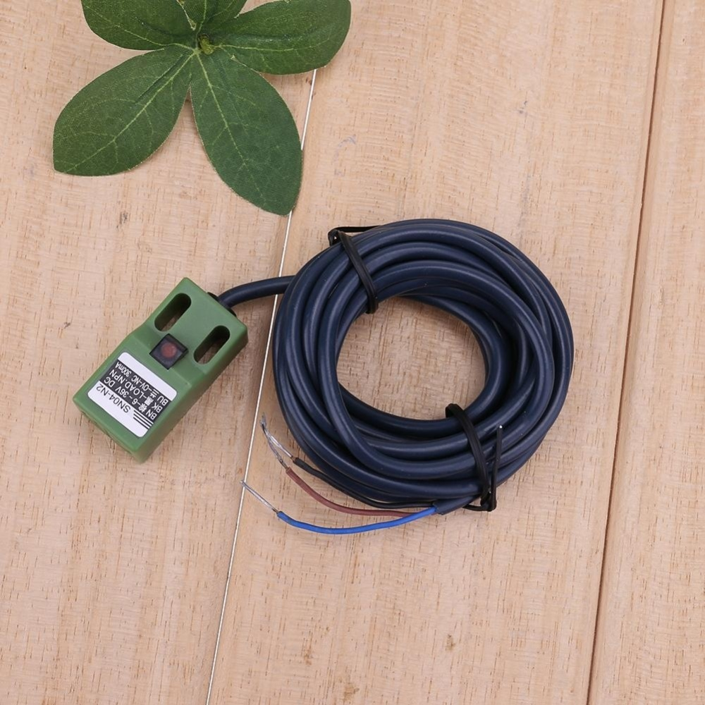 Inductive Proximity Sensor Sn04 N Dc Npn Nc 4mm 6 36v Switches Ac Output Tri Line Detect Object Metal Distance 5mm 10 Response Frequency 05khz Ac25hz