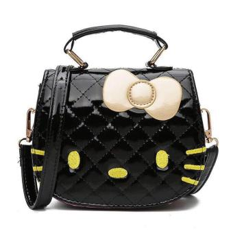 XUEBAMI Shiny Leather Kitty Shoulder Bag Sling Bag Fashion Bag
