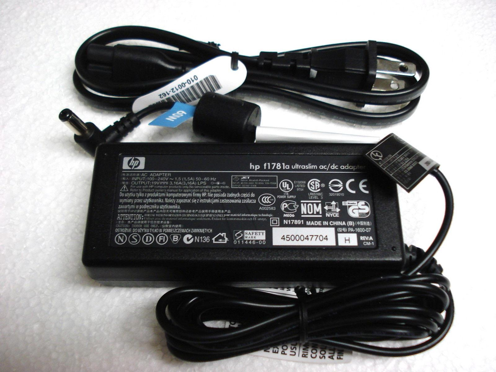 Buy Sell Cheapest Hp Compaq Charger Best Quality Product Deals 185v 35a Power Cable Laptop 65w Adaptor For Dv4 New Genuine Original Oem 60w 19v 316a Ac Adapter F1781a