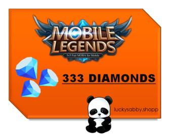 MOBILE LEGENDS 333 DIAMONDS