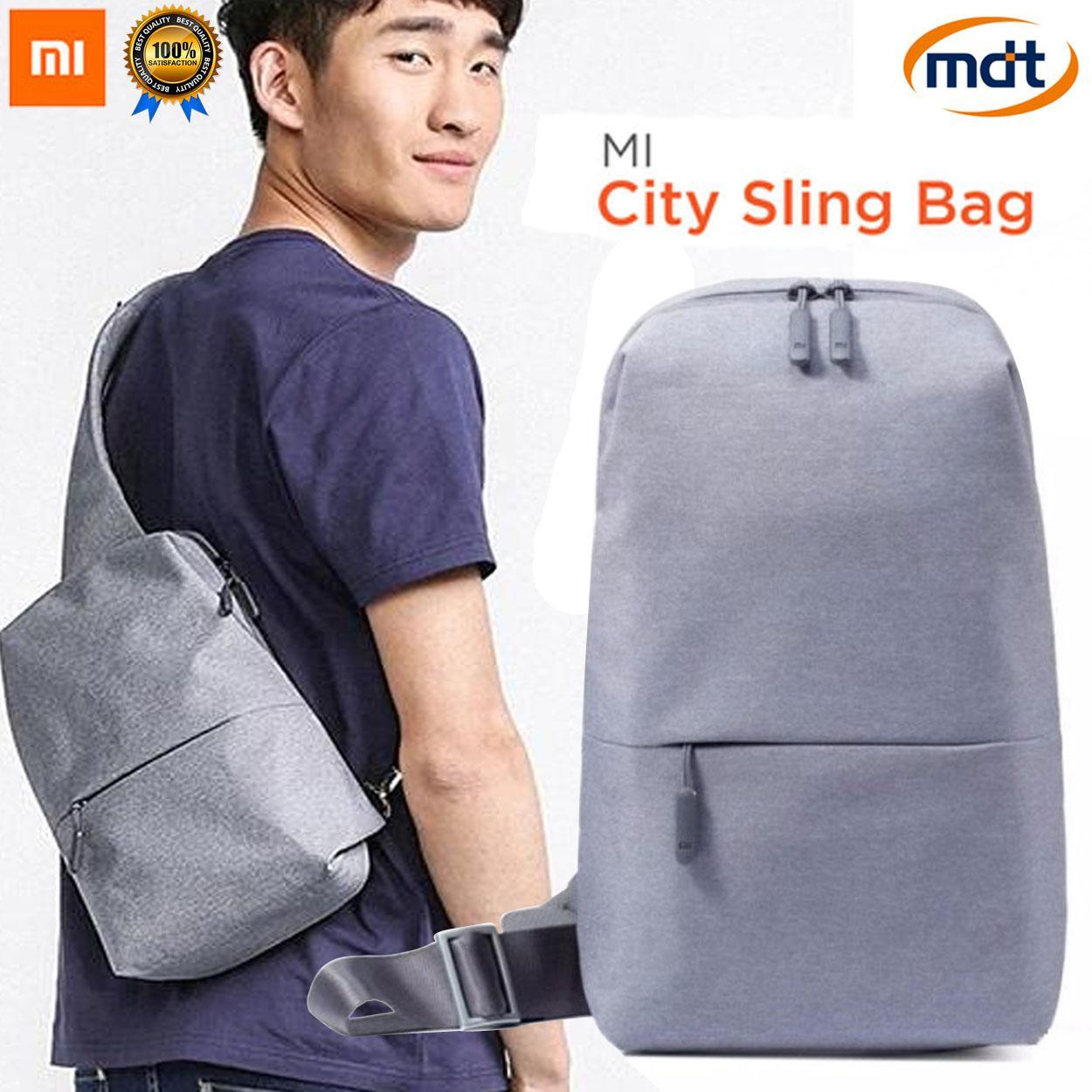 8017fcc657ee Xiaomi Bag Sling Chest Bag Waterproof Shoulder Bag Urban Leisure Sport  Backpack Unisex Rucksack