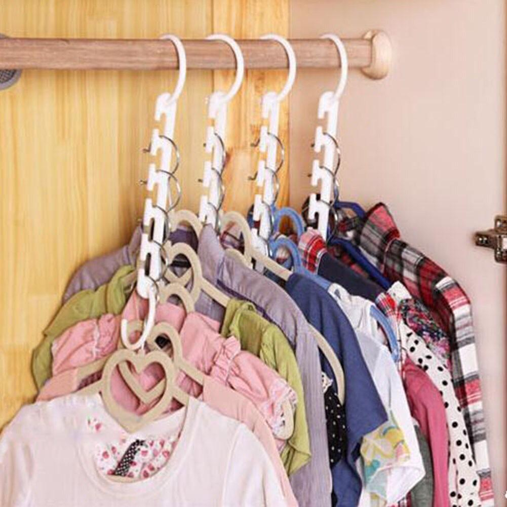 Clothes Hanger For Sale Hangers Prices Brands Review In Miniso Wall Towel Hooks 8 Pieces Portable Space Saver Wonder Magic Coat Closet Organizer