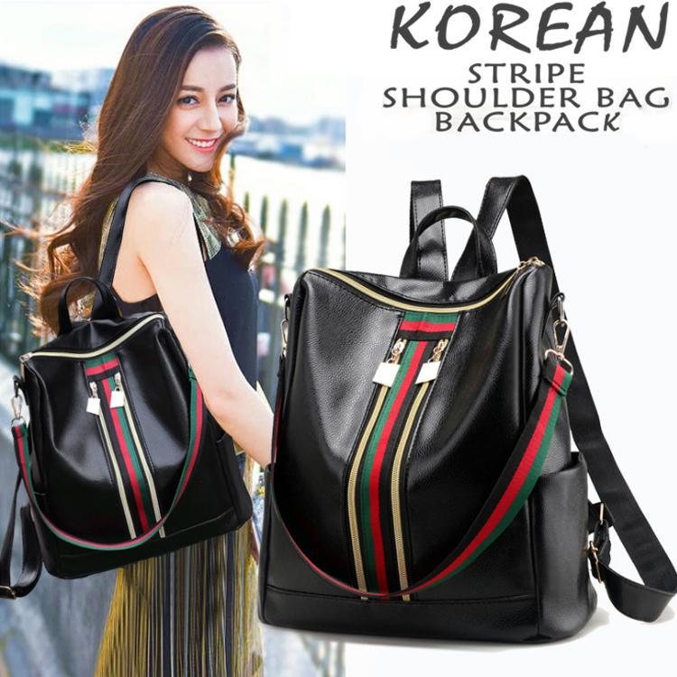 UISN MALL Korean Fashion Backpack Sling Bag  8310  8325  1792 4eaa306d59c7b