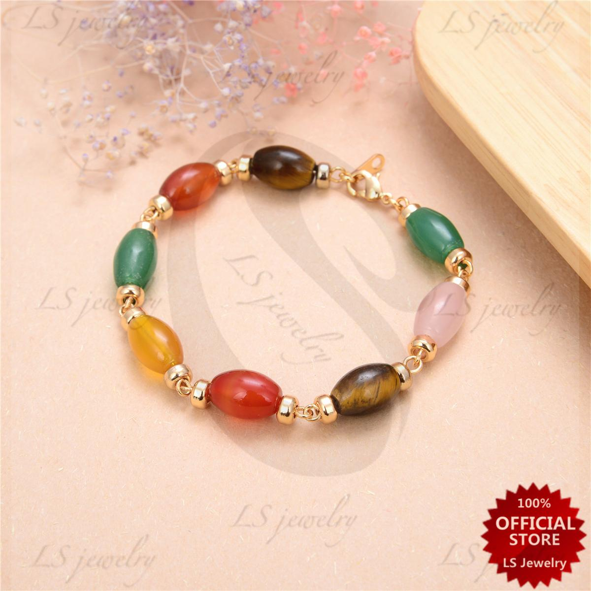 Bracelets For Women Sale Womens Bangles Online Brands Prices Cincin Multicolor Tiny Square Austrian Crystal Gold Plated Ring Lsjewelry Lucky Charms Agate And Stainless Bracelet B1011