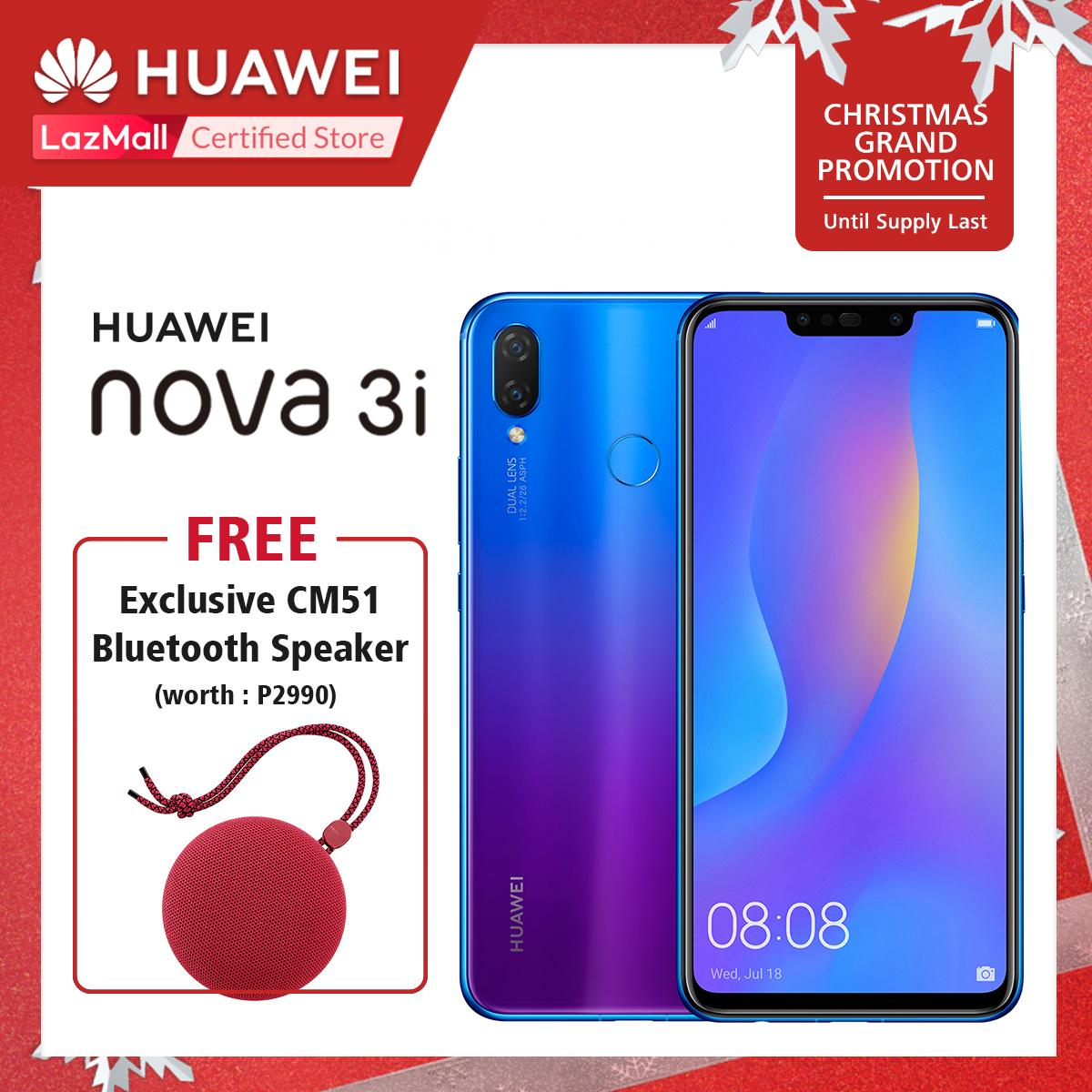 Huawei Philippines Phone For Sale Prices Reviews Lazada Skun Pcb Set 7500 5 Nova 3i 128gb 4gb With Free Cm51 Bluetooth Speaker