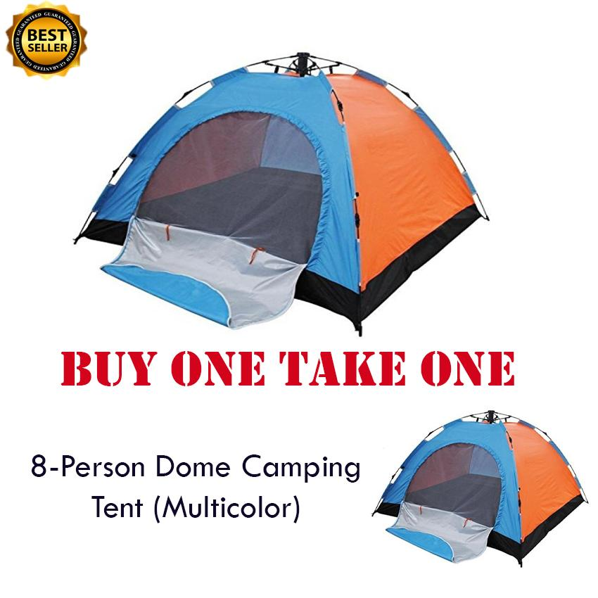 Buy 1 Take 1 - 8 - Person Family Camping Backpacking Tent By Onlinehubph.
