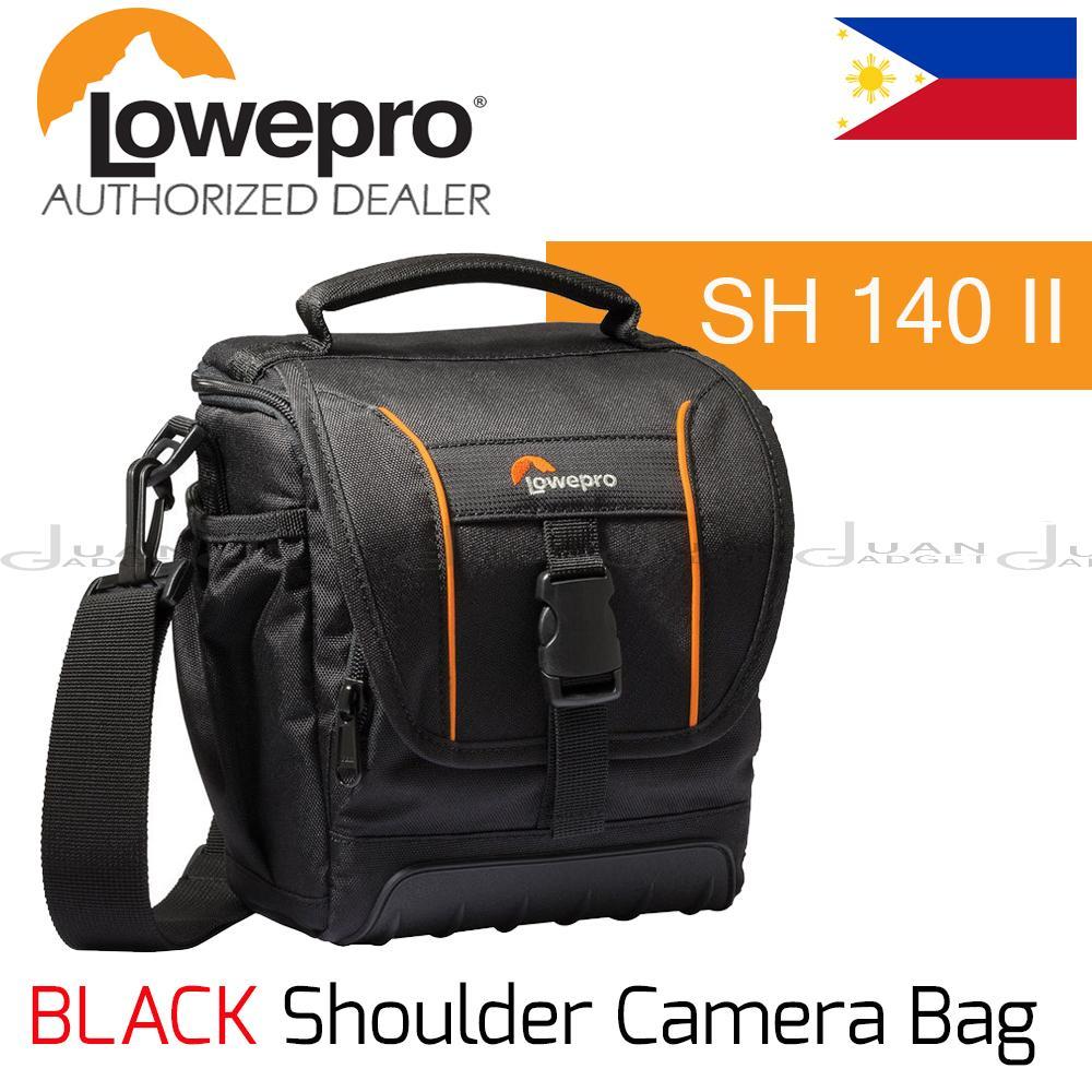 Lowepro Cameras Philippines Dslr Digital Camera Lens Toploader Zoom 45 Aw Ii Black Adventura Sh 140 Shoulder Bag