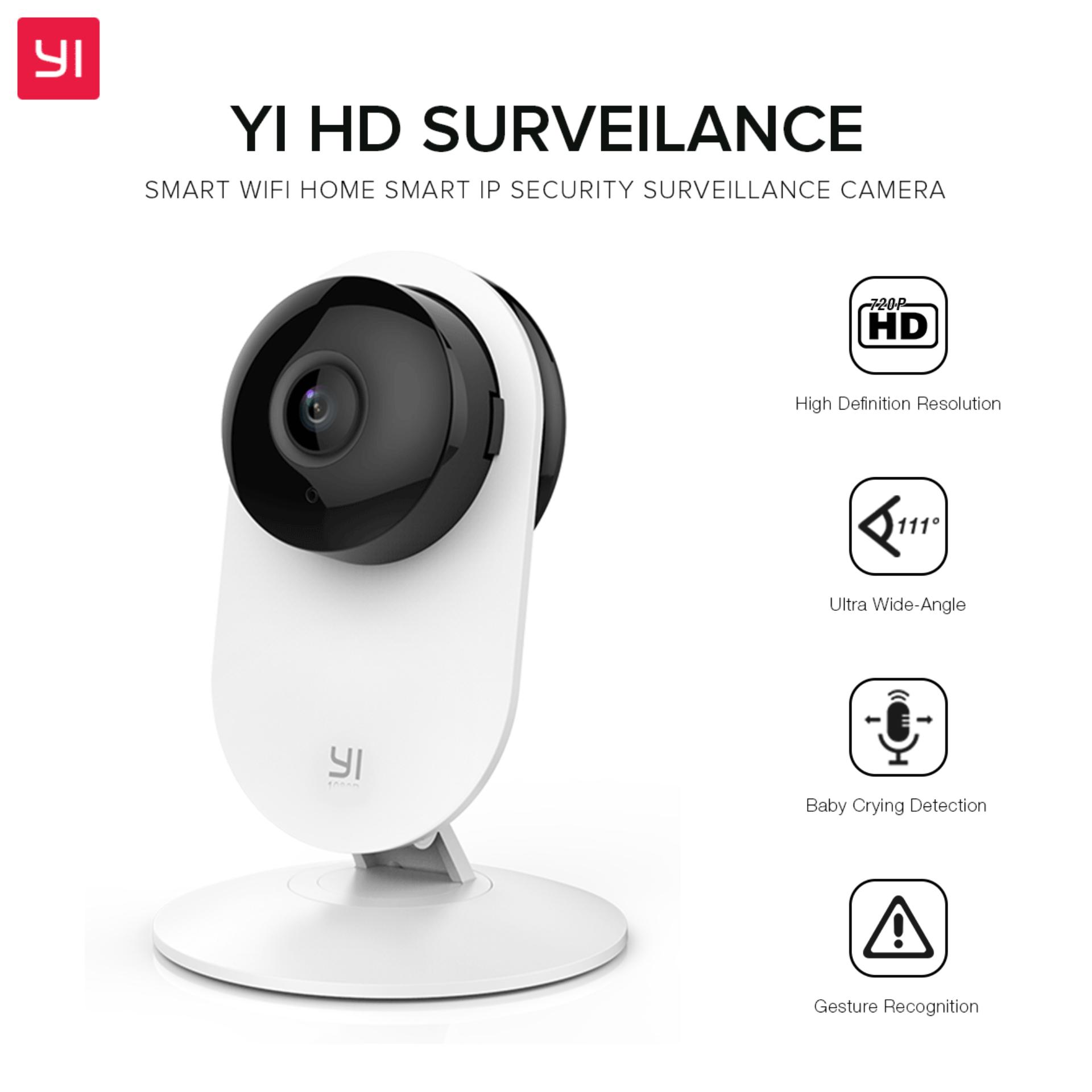 Security Camera For Sale Surveillance Prices Brands Channel Remote View Mobile Dvr With Shock Sensor And Wifi Antenna Yi Hd Smart Home Ip 720p White Discount