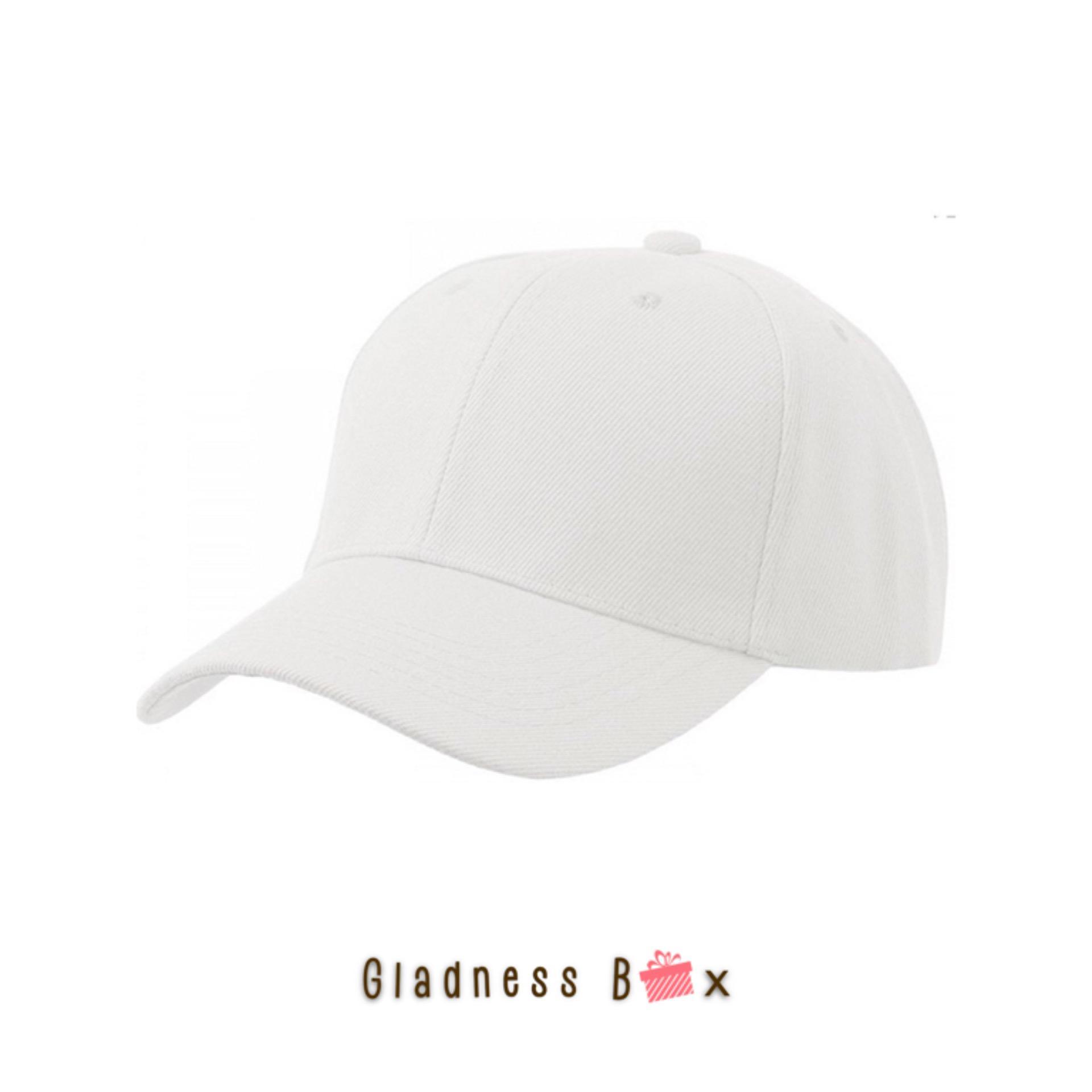 Gladness Box High Quality Plain Baseball Cap for Men Women Unisex 5215f86e3