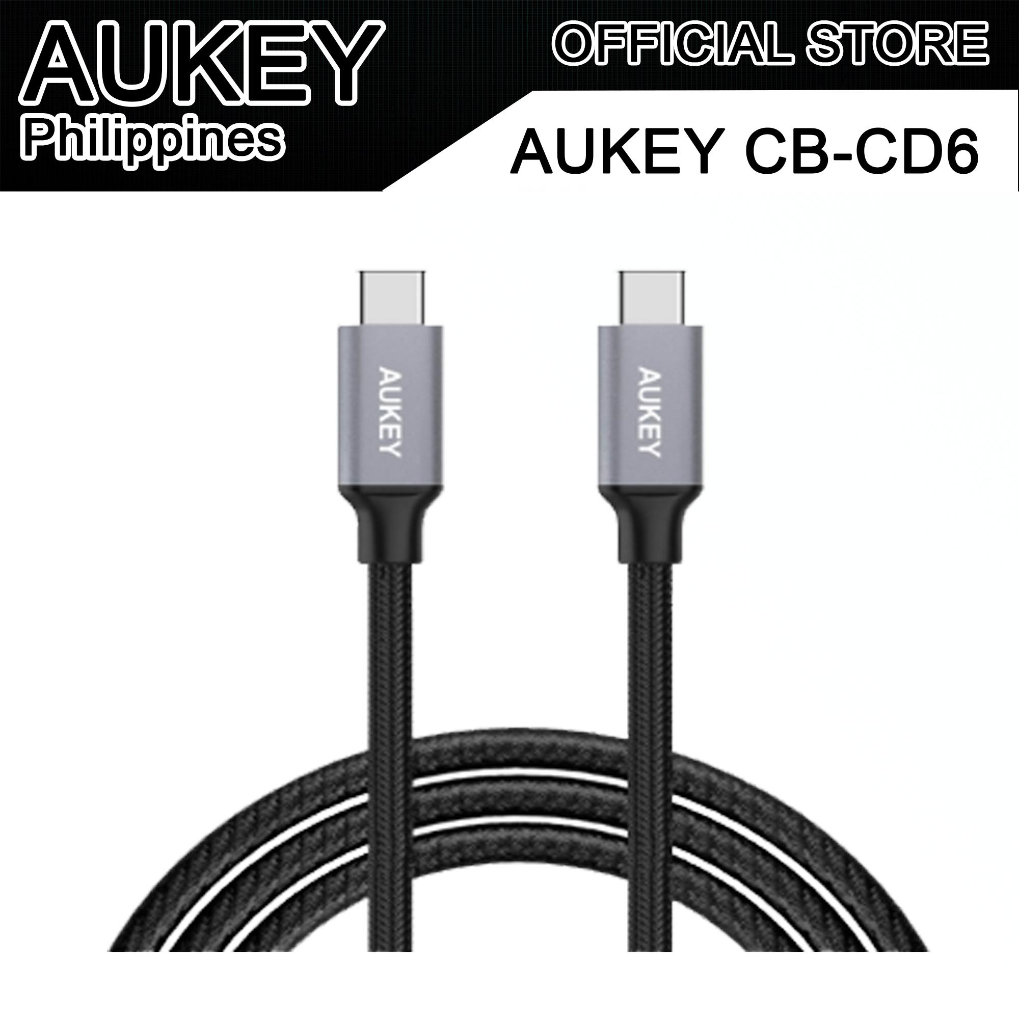 Buy Sell Cheapest Aukey C Best Quality Product Deals Philippines Cb Cd5 Cable 1m Usb To Quick Charge 30 Braided Nylon Cd6 66ft
