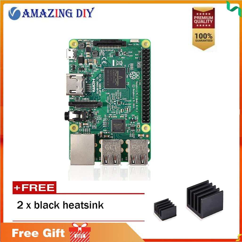 Motherboards For Sale Computer Prices Brands Specs Real Old Circuit Board Pcb Motherboard Key Chain Re Raspberry Pi 3 Model B 2016 Single With High Performance Heatsink Set
