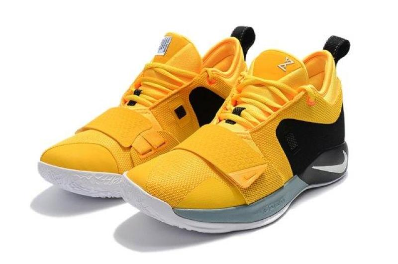 new styles a1a5b 1dbc6 Training Shoes Wholesale Price /Nike__ Paul George PG 2.5 Yellow Black  White Men's Basketball Shoes High Quality