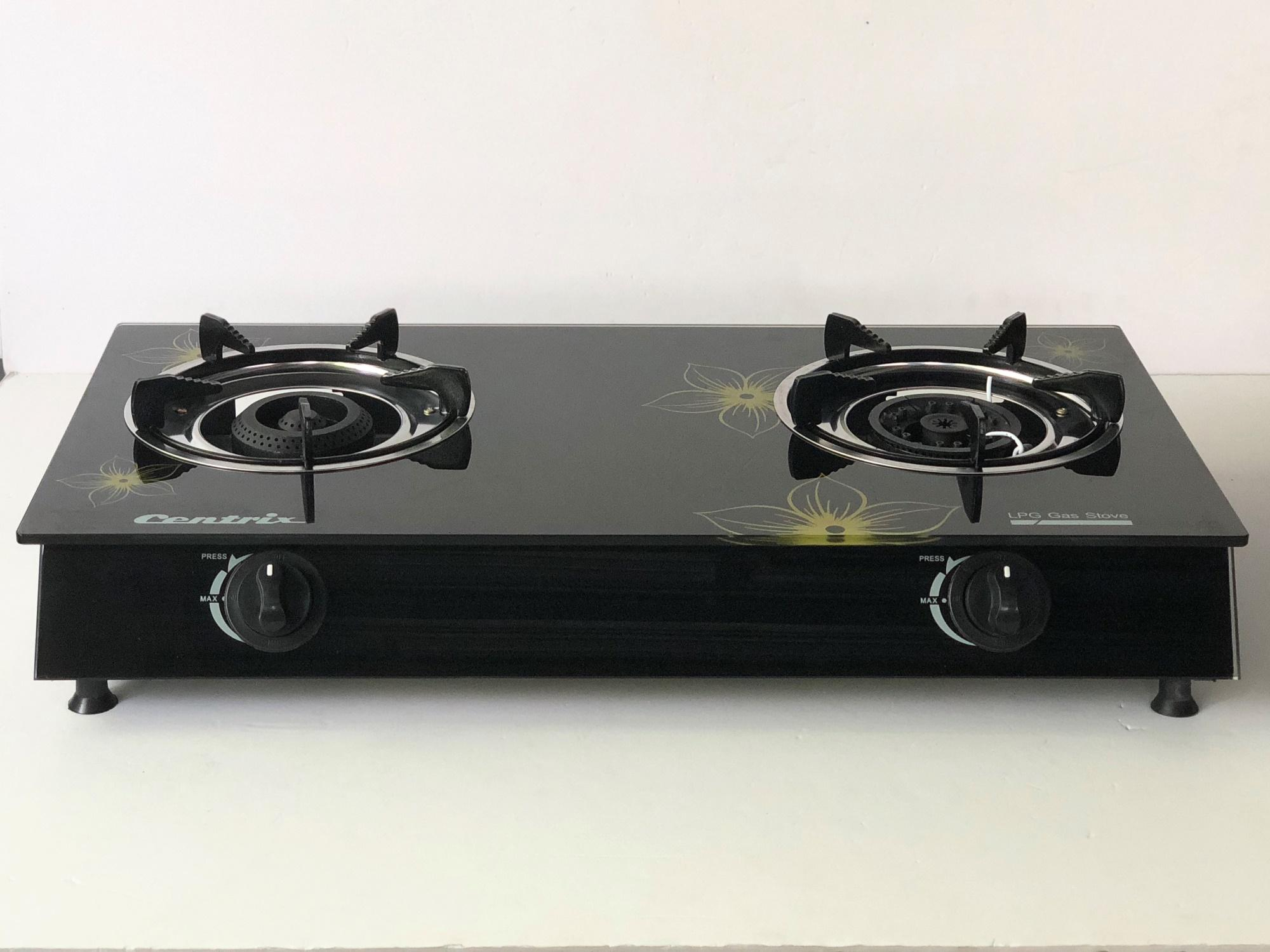 Double Burner Gl Gas Stove Cx 212g