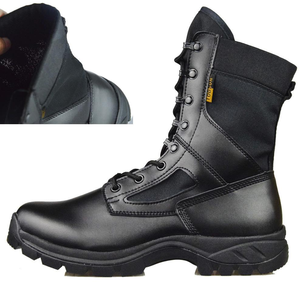 4dfaa0f0beb IODSON Men's SFE Black Desert Combat Boots, Ankle Boots, Military Tactical  Boots,Lace up Outdoor Men Boots, Lightweight Work Boots - intl