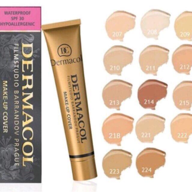 DERMACOL FOUNDATION 218 / SPF30 Hypoallergenic with FREE LD LACE Philippines