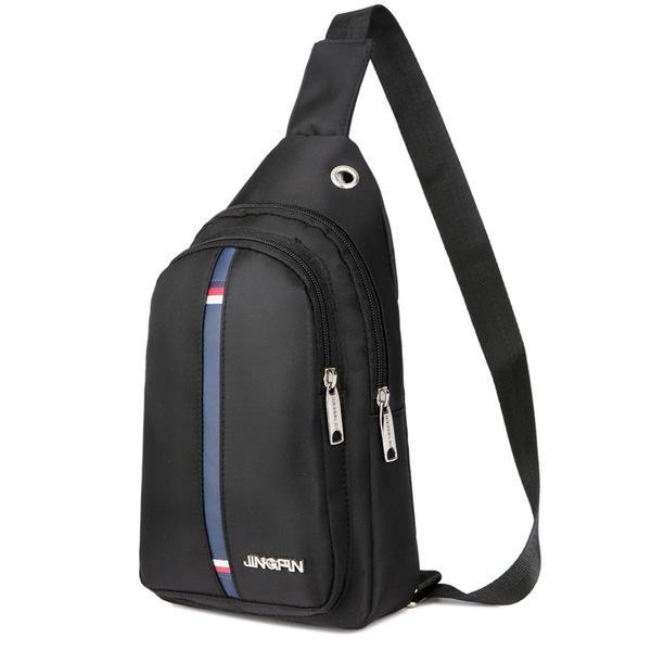 28dd6677cd KX 2018 new men s chest bag Korean leisure Messenger bag tide men s sports  shoulder bag waterproof