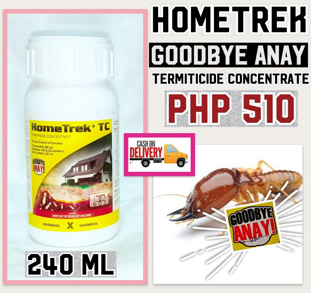 HOMETREK GOODBYE ANAY TERMITICIDE CONCENTRATE 240ml Philippines