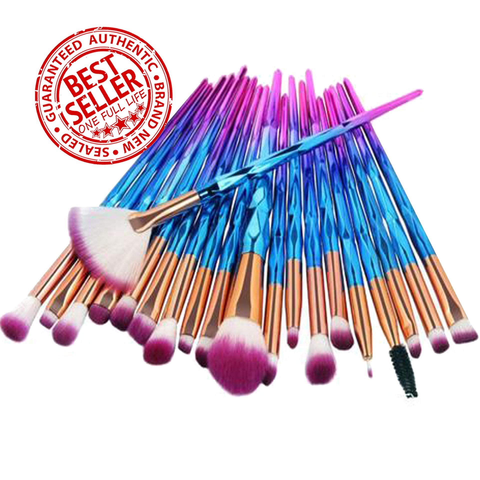 Unicorn Makeup Brush Set 20-Piece RAINBOW Philippines