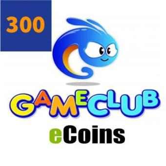 Philippines | Discount Gameclub Ecoins 300 buy now - Only ₱222
