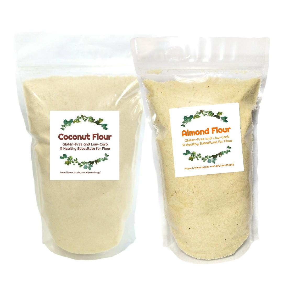 Organic Almond Flour 500g + Coconut Flour 500 g (Extra Fine)