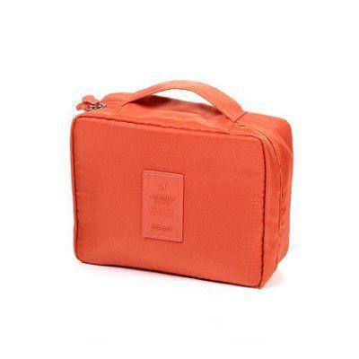 Fashionline Travel Make Up Organizer Toiletry Costmetic Makeup Bag Philippines