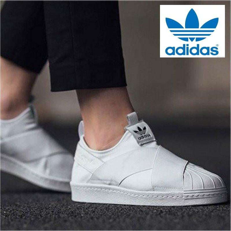 innovative design bd7c6 4360f Adidas Originals Superstar Slip-on S81338 (WhiteWhite) Shoes 100% Original