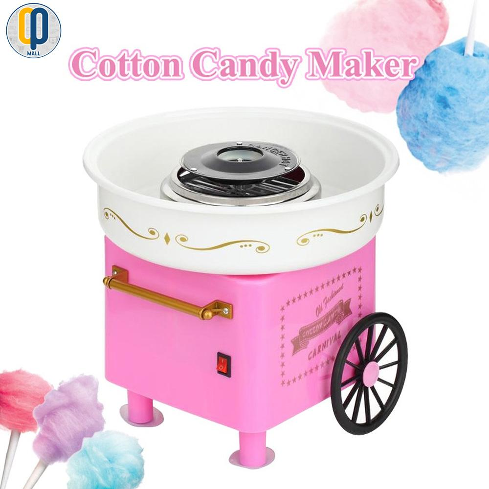 Minijoy Cotton Candy Maker Machine (pink) By Op Mall