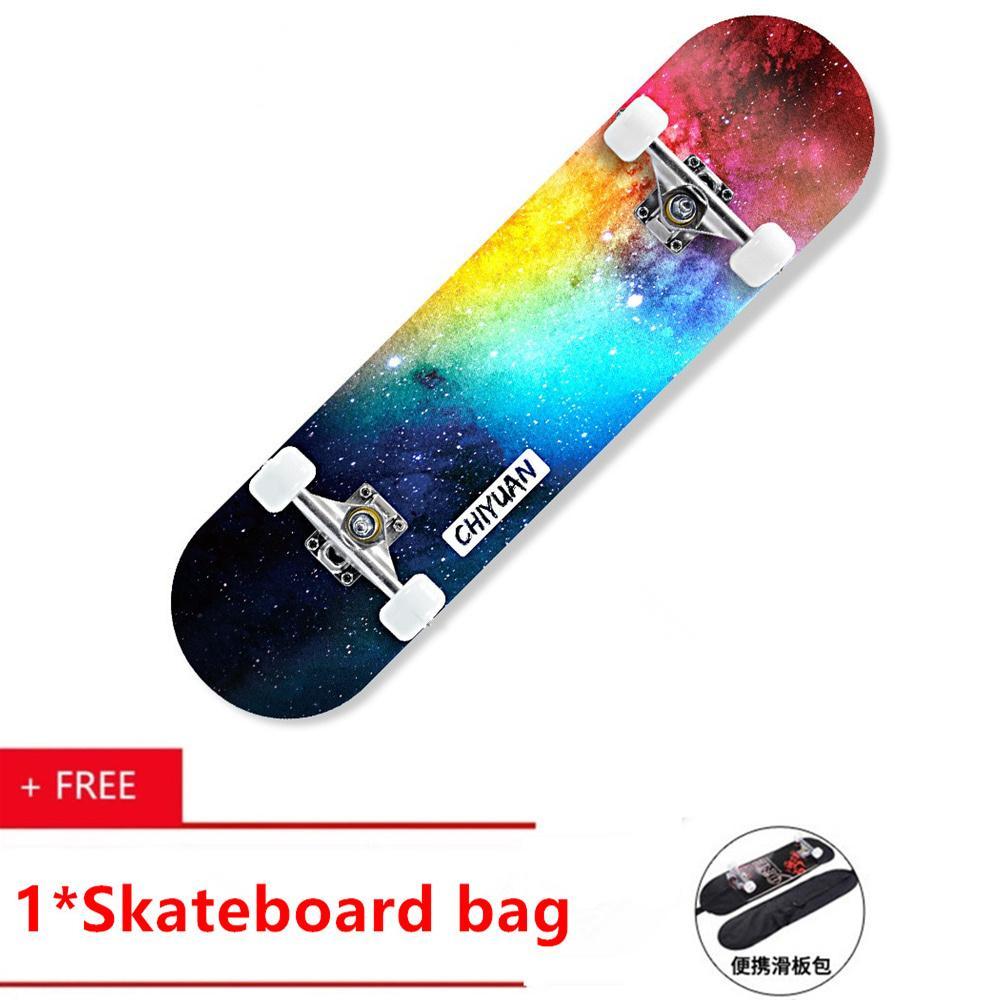 0bbeddd514e5 Letgo Four-wheeled Skateboard Beginner Professional for Young Children or  Adult Boys and Girls
