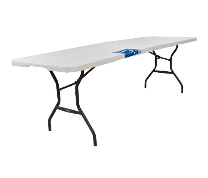 Lifetime Table 8 Feet Light Commercial Fold In Half