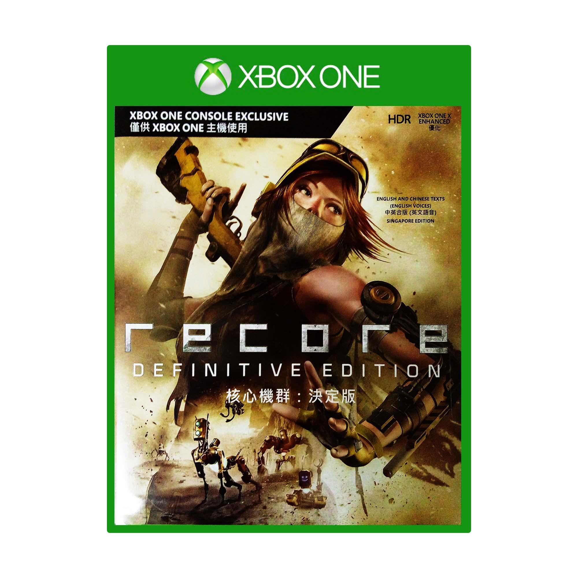 Xbox one ReCore Definitive Edition
