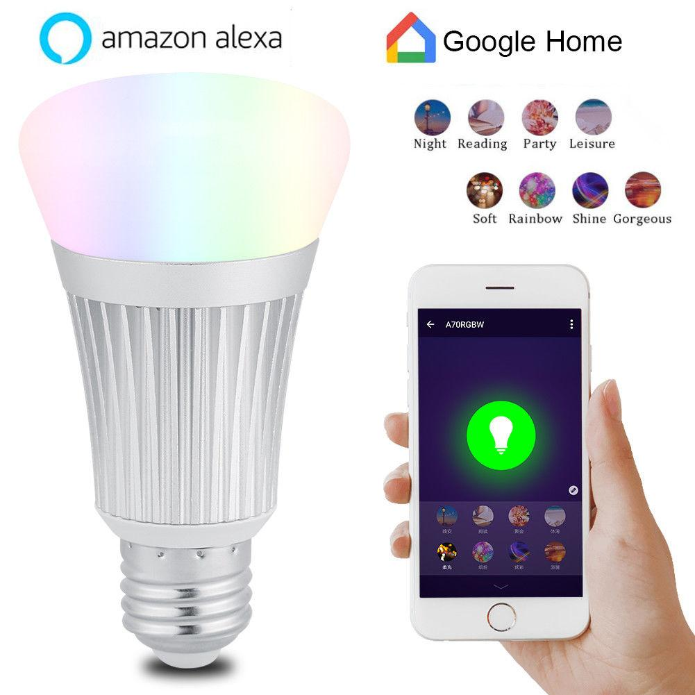 Light Bulbs For Sale Led Prices Brands Review In Colorchanging Rgb Bulb Par38 02 E27 7w Wifi Smart Wireless Dimmable Rgbw Lamp Voice Control Intl