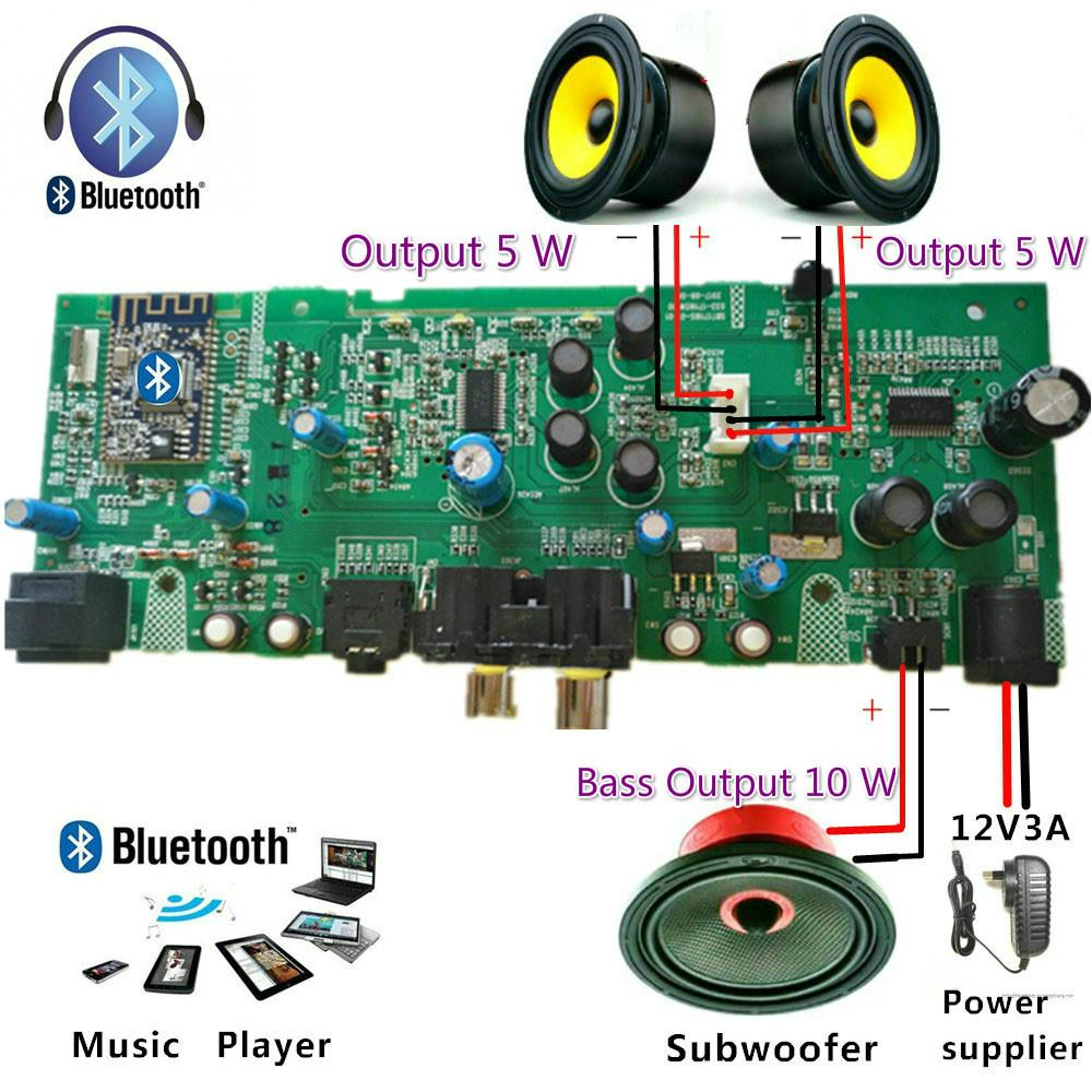 Audio Amplifier For Sale Av Receiver Prices Brands Specs In Circuit Board Holder 315 China Professional 21 Channel Digital Bluetooth Subwoofer Upgrade Diy Speaker Dc12 15a