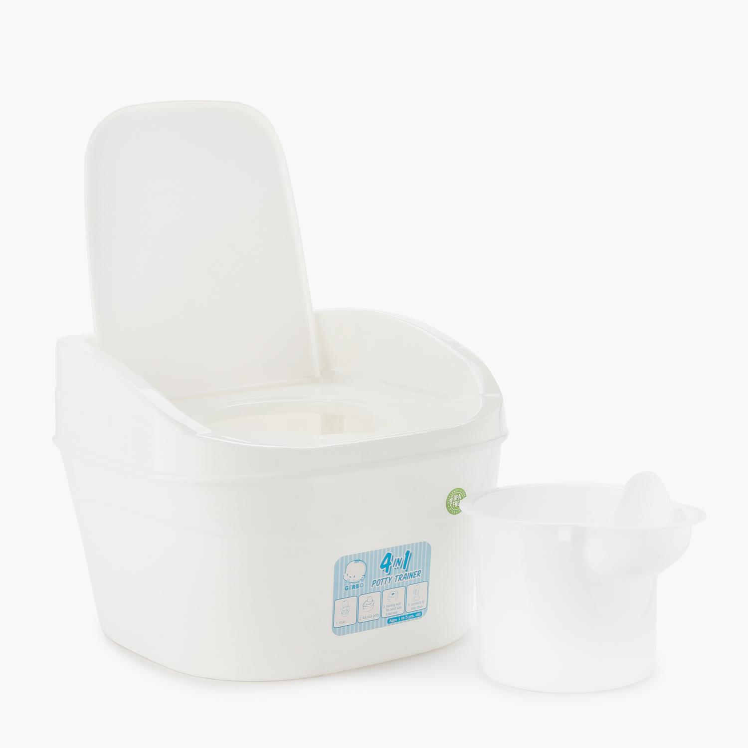Gerbo 4-in-1 Potty Trainer (White)