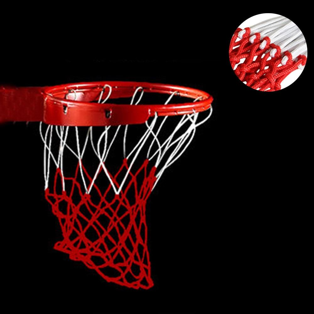 New Champion Sports 5mm Deluxe Non Whip Replacement Basketball Net Durable  Nylon Rugged White Red 82b13a84cd6de
