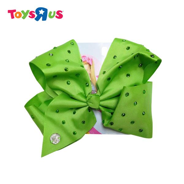 Jojo Siwal Signature Bow With Allover Rhinestones - Lime Green By Toys R Us.