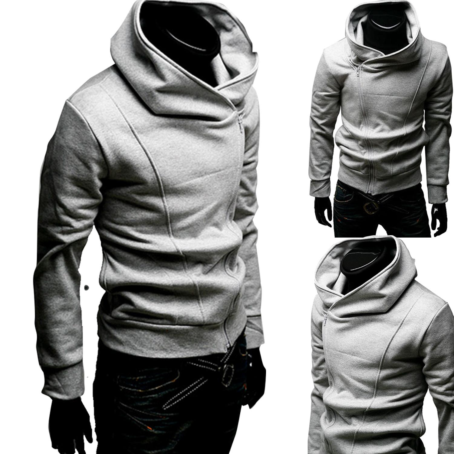 Slim Fit Hooded Jacket Slim Fit Zipped Jacket Zip Hooded Jacket Men Zipped Jacket Zip Up Hoodie For Men Zipper Hooded Hoodie Zip Up Hoodie For Men Assassins Creed Cosplay Hoodie Slim Fit Casual Coat Hoodies Coat Sports Suit Casual Fashion Mens Clothing By Ef-Fashion.
