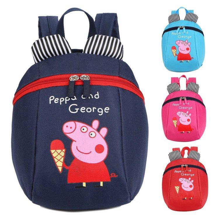 23965e721d25 UISN MALL PepaPig Anti-lost children backpack Kids Backpack School Backpack   931