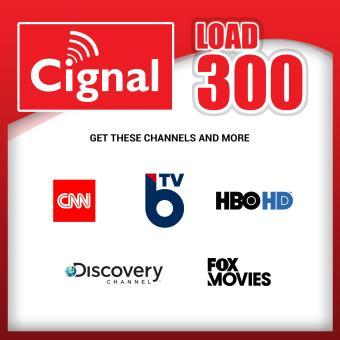 Cignal Prepaid Plan 300