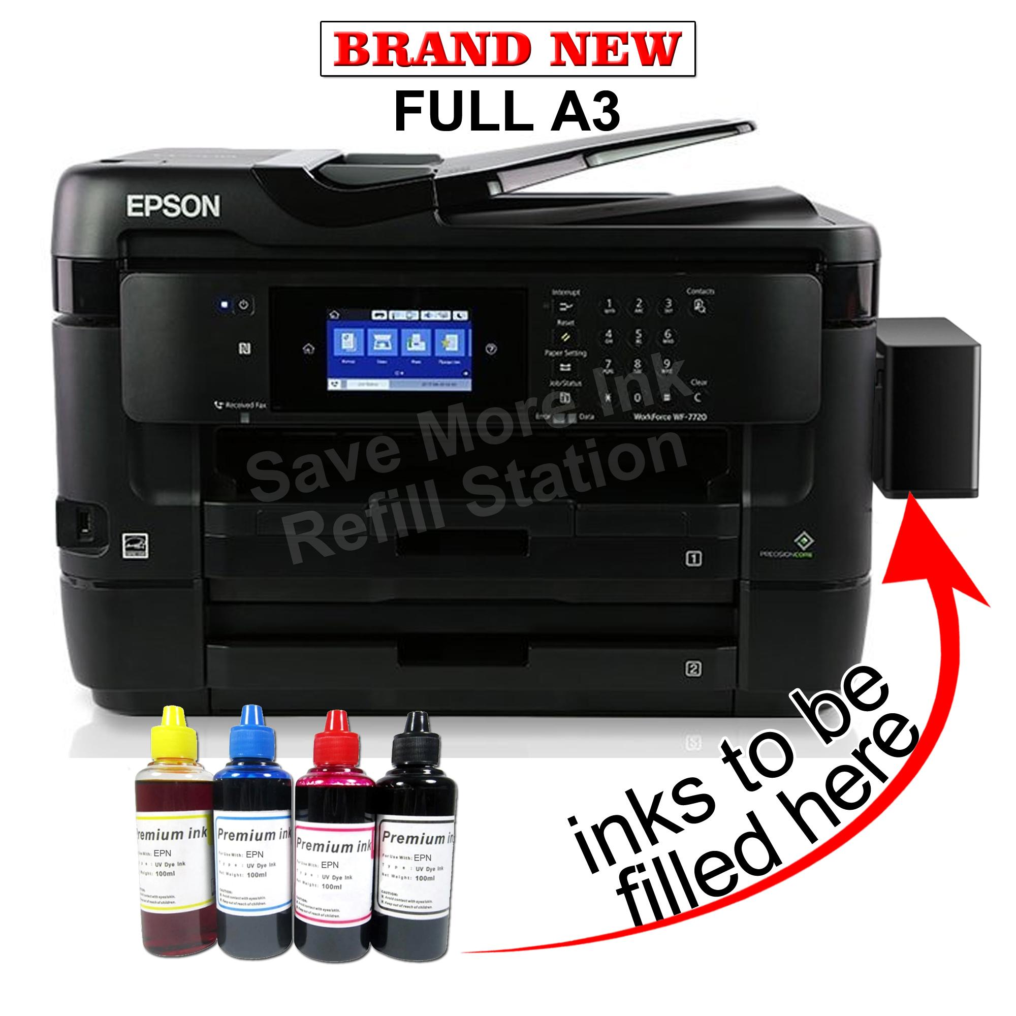 Epson Philippines Price List Printer Scanner Ink Head Tmu 220 New Workforce Wf 7720dtwf A3 Wi Fi W Ciss Inks