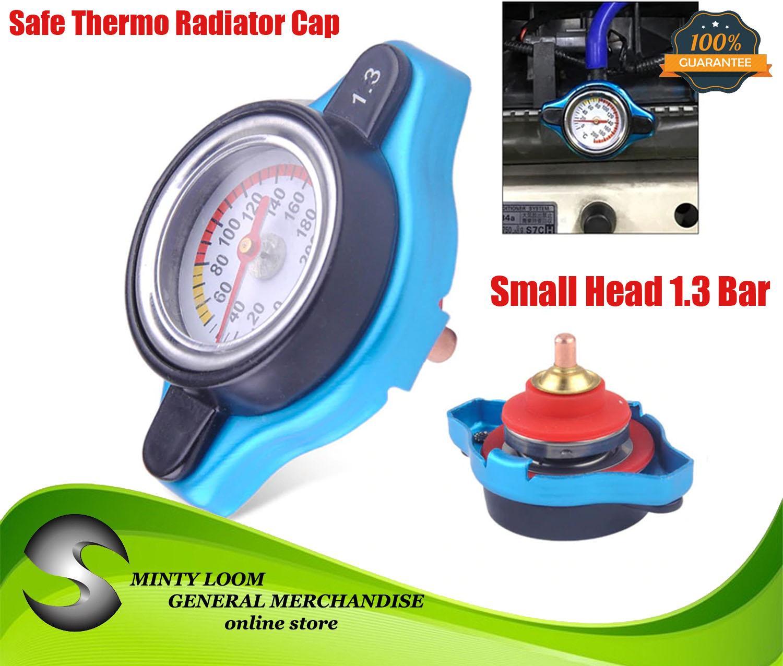 D1S-011-1 BU Genuine D1 SPEC Thermostatic Gauge Radiator Cap 1.3 Bar Small Head