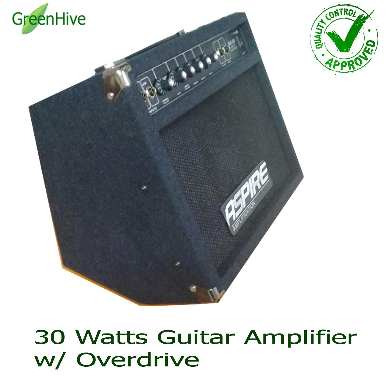 Guitar Amp For Sale Electric Best Seller Prices Fernandes Wiring Diagram Amplifier Aspire 30watts Ga 30 With Overdrive Alternative Brand To