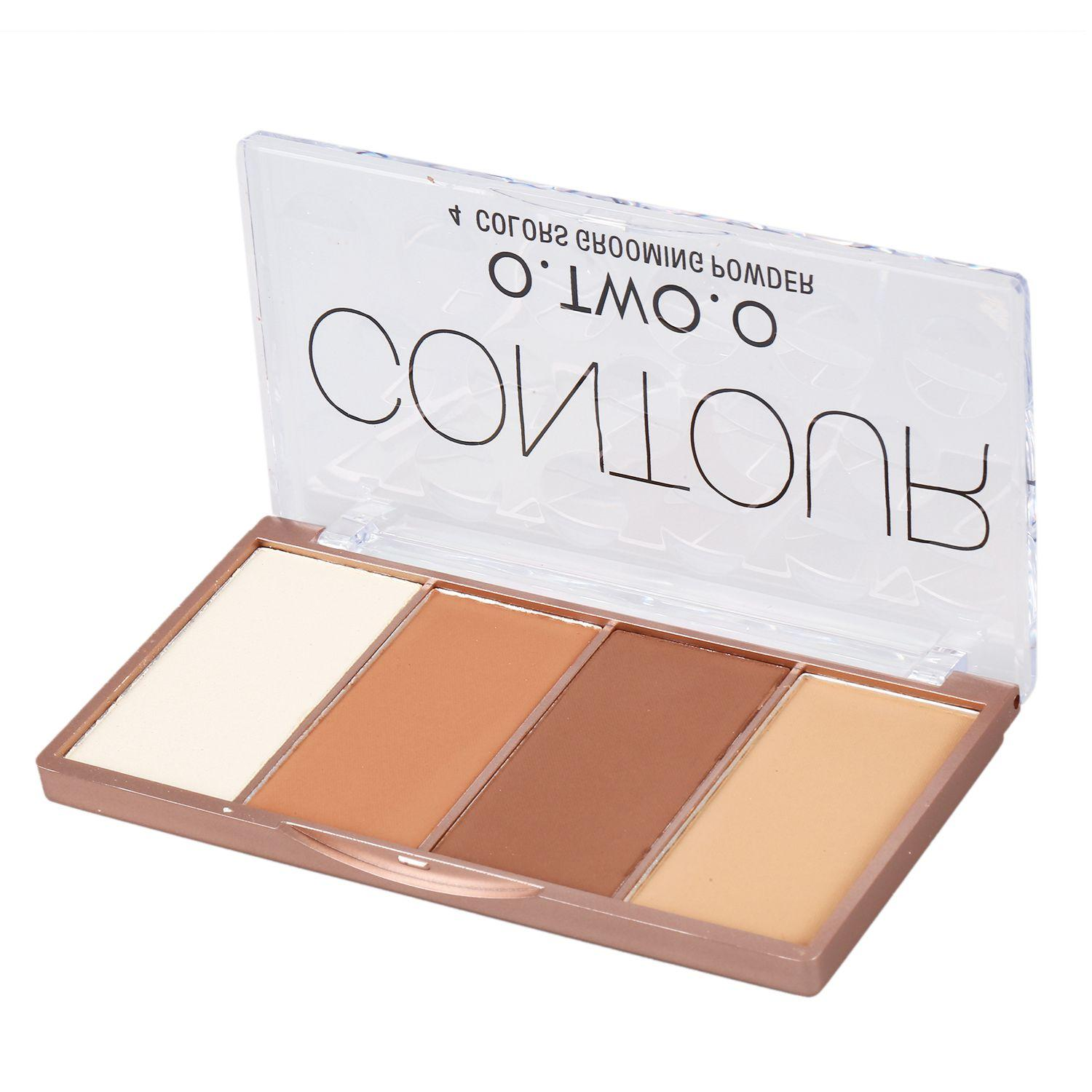 O.TWO.O 4 Colors Concealer Palette Face Makeup Base Contouring Palette Foundation Concealer Powder #01 Philippines