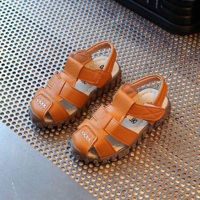 c70ab795a6e504 boy men Sandals 2018 New Style Korean Style Summer Baby 1-6-Year-