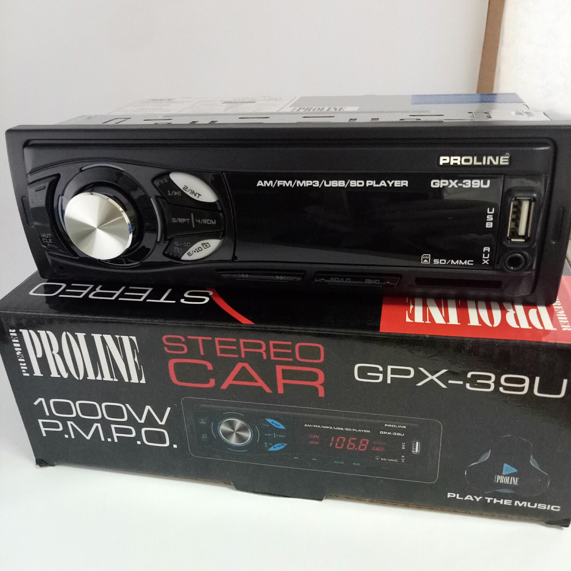 Car Stereo For Sale Cars Online Brands Prices 2002 L300 Radio Wiring Color Proline Gpx 39bt W Am Fm Bluetooth Usb