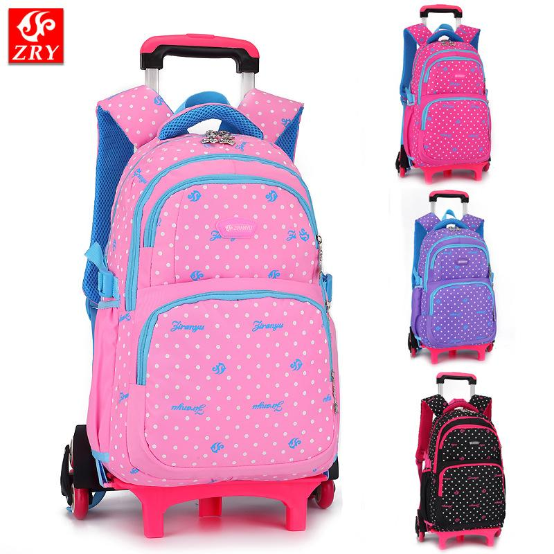 Kids Trolley Bags for sale - Rolling Backpack for Kids online brands ... 0b369ff8b8