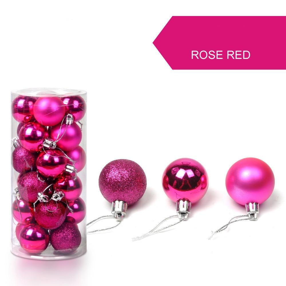 20pcs 40mm Christmas tree decoration balls,New Year decoration,Party decoration ,decoration ball, ornament