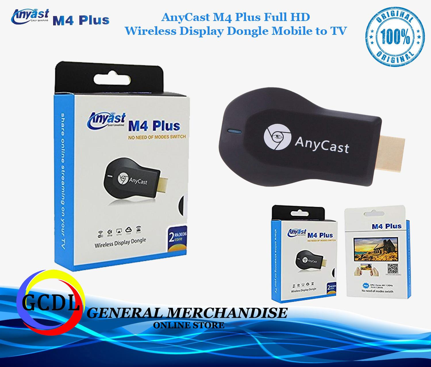 Anycast Philippines Price List Media Players Projectors Ezcast Wifi Display Receiver Dongle Wireless Hd Mirroring M4 Plus Airplay 1080p